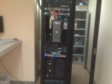 Completed Rack